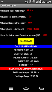 Electrical Reference Guide - screenshot