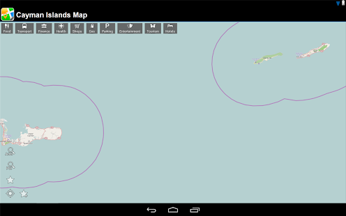 Cayman Islands Offline Map - screenshot