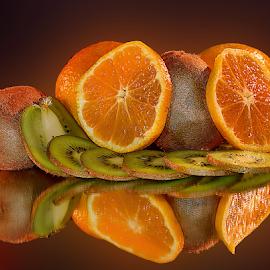 kiwi with a orange by LADOCKi Elvira - Food & Drink Fruits & Vegetables