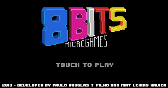 8-bits Microgames - screenshot