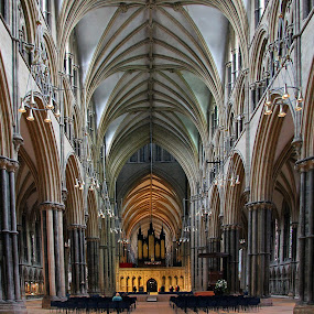 Lincoln Cathedral by Jon Sellers - Buildings & Architecture Places of Worship