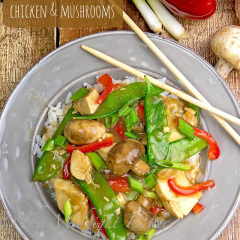Chicken with Mushrooms (Moo Goo Gai Pan)
