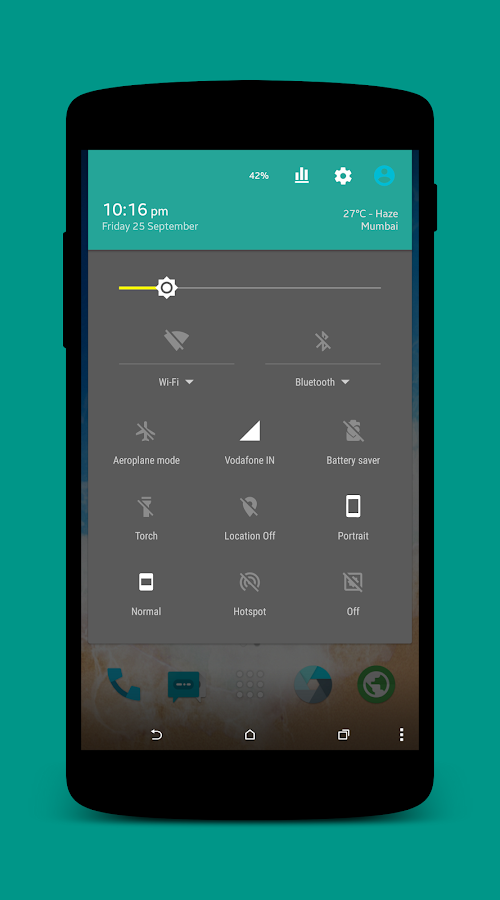 Fusion UI CM13/12.1/12 Theme Screenshot 1