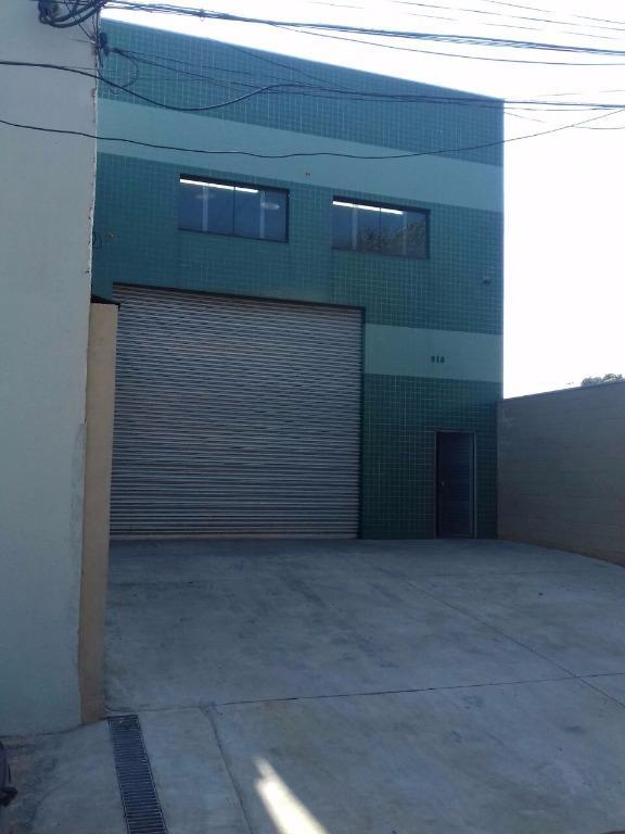 Galpão industrial para venda e locação, Vila Vivaldi, São Bernardo do Campo - GA0001.