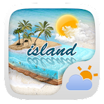 Island GO Weather Widget Theme 1.0.2 Apk