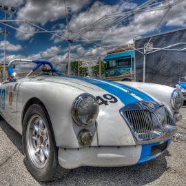 MG by Jason James - Transportation Automobiles ( ims, racing, mg, vintage racing, motorsport )