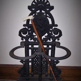 Cane Stand by Sarah Harding - Novices Only Objects & Still Life ( metal, still life, novices only, museum, historic )