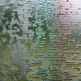 Wet Net by Svemir Brkic - Novices Only Abstract ( screen, door )