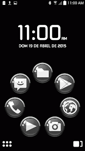 ICON PACK BLACK GLOSSY BUTTONS - screenshot