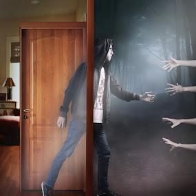 Take me... by Dyaz Afryanto - Digital Art Abstract