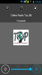 Online Rádio Top Blt - screenshot