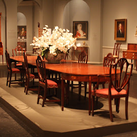 A Collection  by Sam Long - Artistic Objects Furniture ( chairs, art, washington dc, table, furniture, the kaufmann collection, the national gallery of art, exhibit )