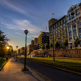 Street in Oslo by Charles Ong - City,  Street & Park  Street Scenes