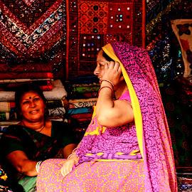 Women Artisans by Prasanta Das - City,  Street & Park  Markets & Shops ( artisans, ware, women )