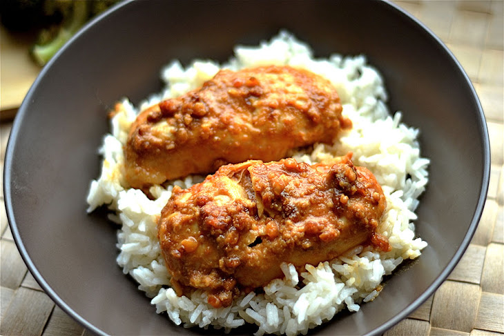 Slow Cooker Peanut Butter Chicken Recipe   Yummly