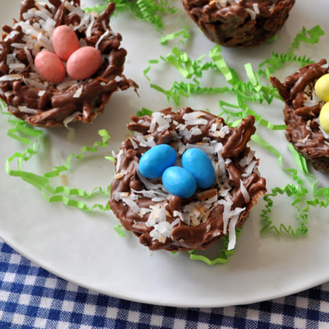 Chocolate Coconut Bird Nests