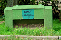 Salt bin, Chartridge Parish Council