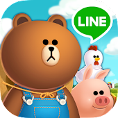 LINE BROWN FARM APK for Ubuntu