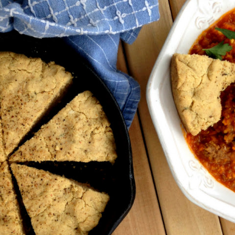 Almond Thyme Skillet Bread