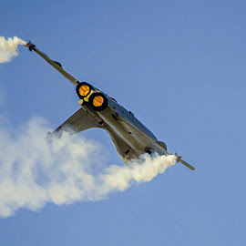 Flying Magic by Vijayanand K - Transportation Airplanes ( flight, fighter plane, plane, fighter, air plane )
