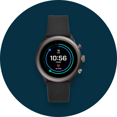 Android watch running Wear OS by Google