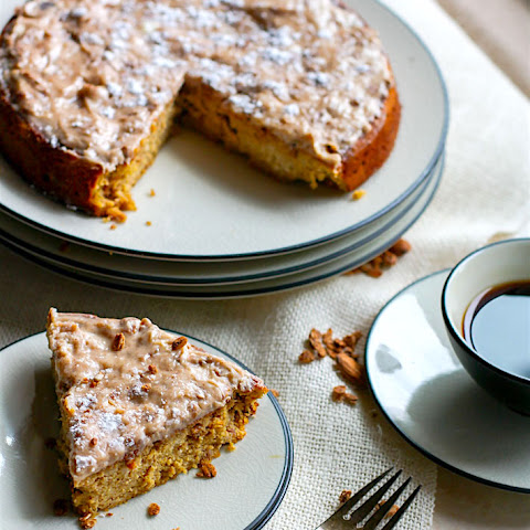 White Chocolate Spiced Almond Cake {Grain Free}