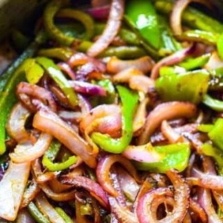 Copycat Chipotle Grilled Peppers and Onions
