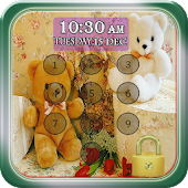 Teddy Bear Pin Screen Lock APK for Nokia
