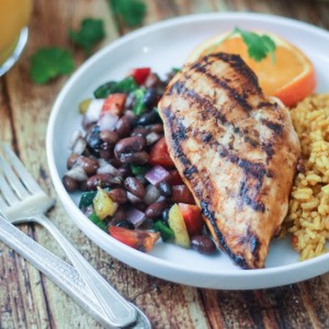 Grilled Citrus-Marinated Mexican Chicken