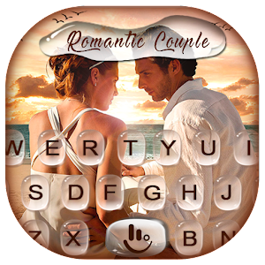 Romantic Love Couple Photo Keyboard Theme For PC / Windows 7/8/10 / Mac – Free Download