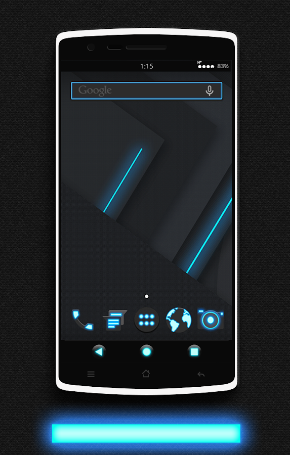Glow CM13 CM12/12.1 Theme Screenshot
