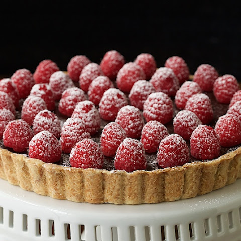 French Chocolate Tart with Brown Butter Crust