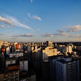 Sao Paulo - Brazil by Marcello Toldi - City,  Street & Park  Vistas