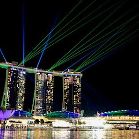 Laser show by Esther Pupung - News & Events World Events ( landmark, travel )