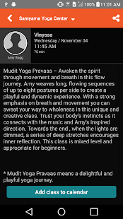 Samyama Yoga Center - screenshot