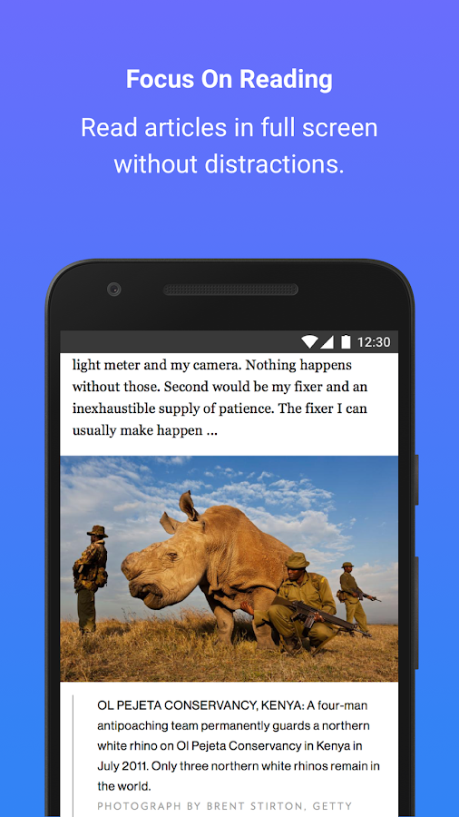 Flip Browser (Light & Fast) Screenshot 3