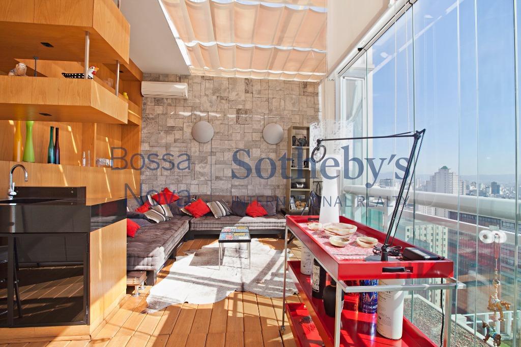 Loft moderno e sofisticado em endereço premium