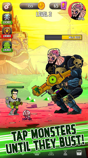 Tap Busters: Galaxy Heroes For PC