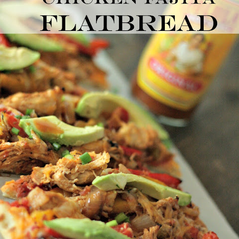Chicken Fajita Flatbread