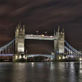 Tower Bridge by Guy Longtin - Travel Locations Landmarks (  )