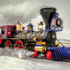 Jupiter by Roxie Crouch - Transportation Trains ( old, jupiter, train, transportation, antique )
