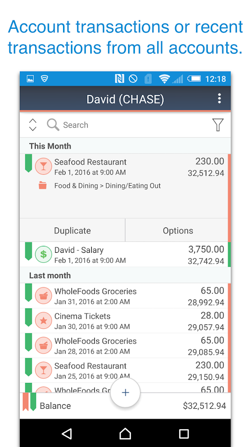 MoneyWiz 2 - Personal Finance Screenshot 2