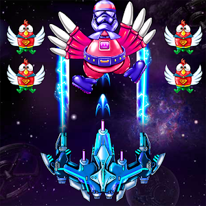 Strike Galaxy Chicken Attack For PC (Windows & MAC)