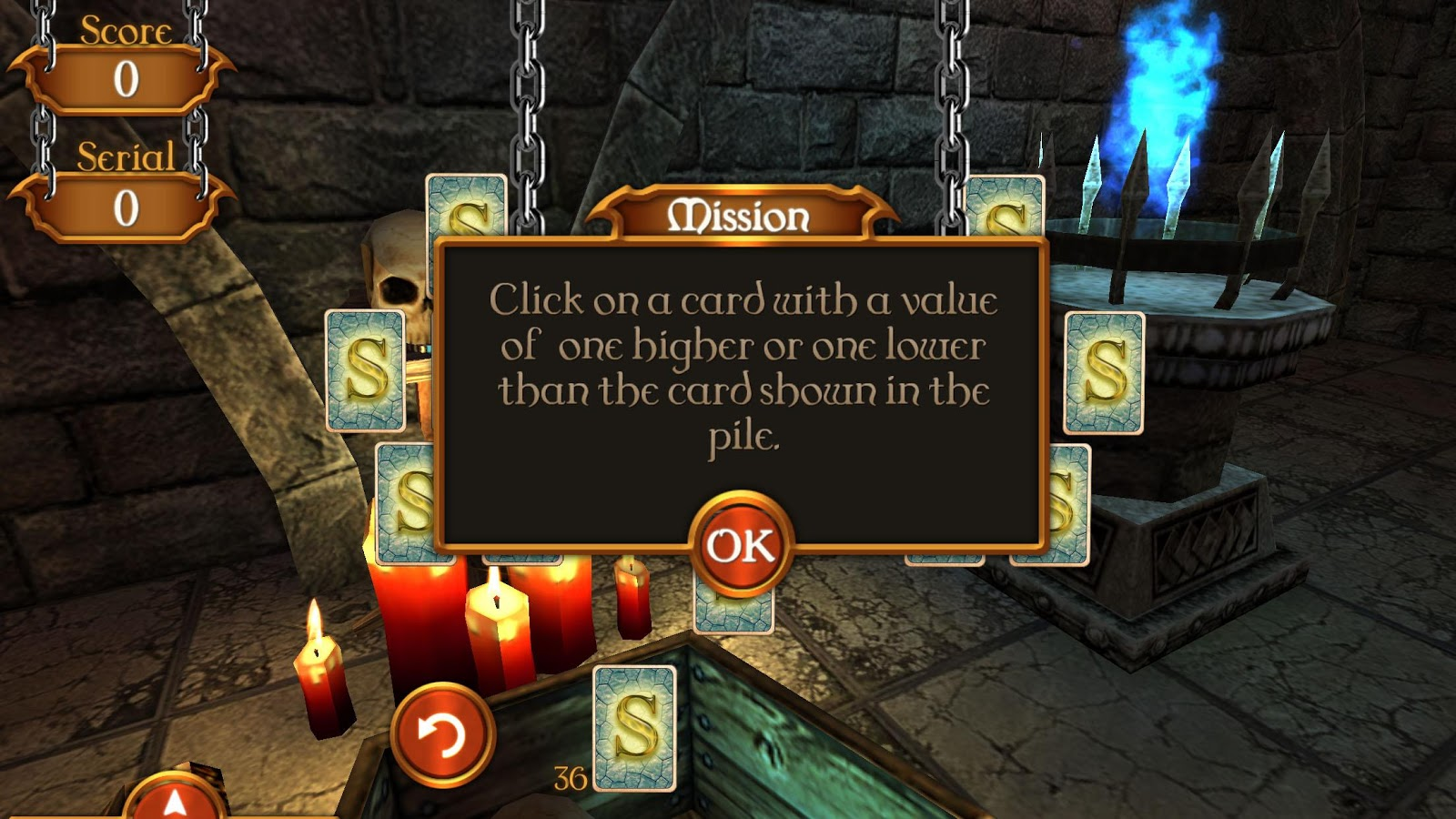 Solitaire Dungeon Escape 2 Screenshot 1