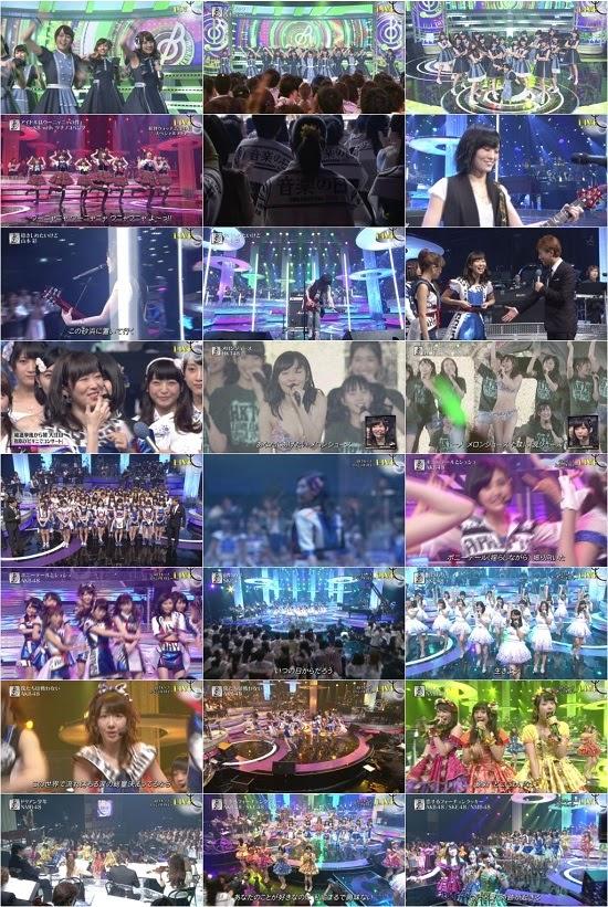 (TV-Music)(1080i) AKB48G 乃木坂46 Part – 音楽の日 2015 150627