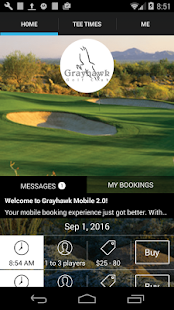 Grayhawk Golf Club Tee Times - screenshot