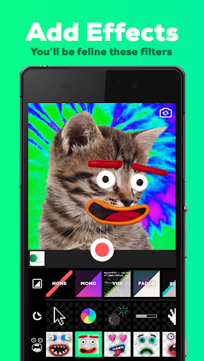 GIPHY CAM - The GIF Camera & GIF Maker screenshot 1