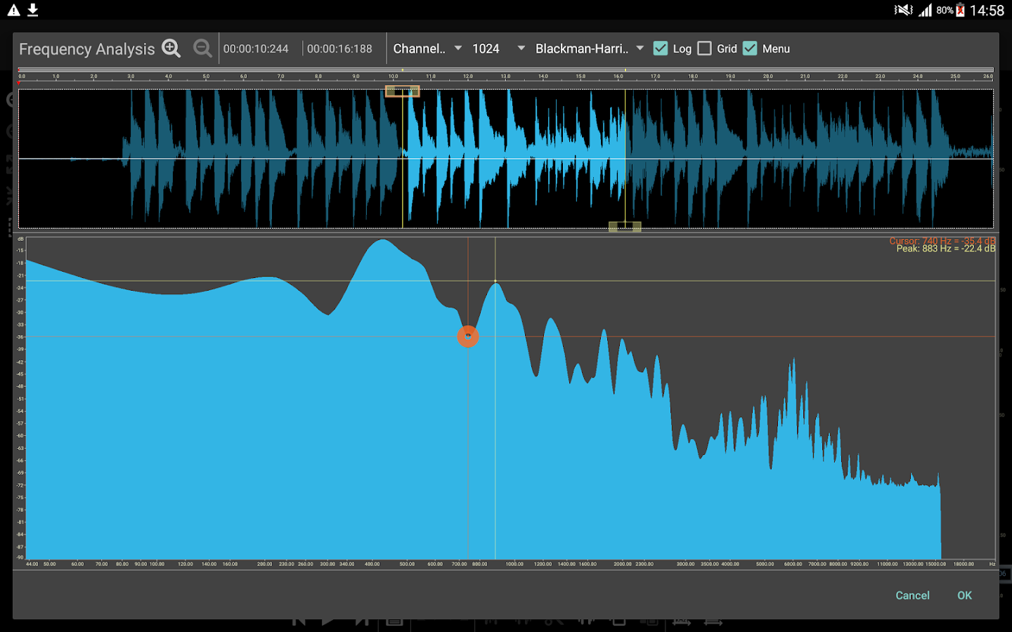 Doninn Audio Editor Screenshot 8