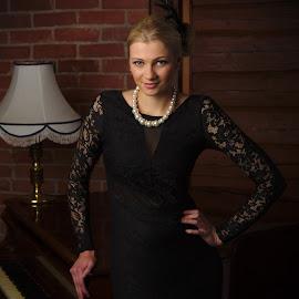Erika by Simo Järvinen - People Fashion ( model, female, woman, people, portrait )