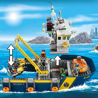 Корабль исследователей морских глубин